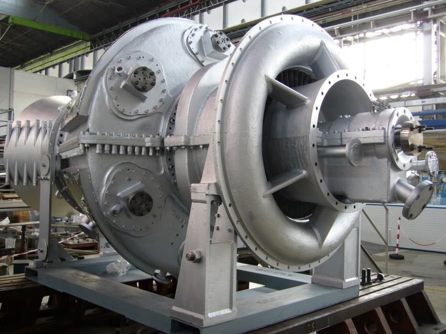 Gas turbine laboratory testing in Italy (Mesit)