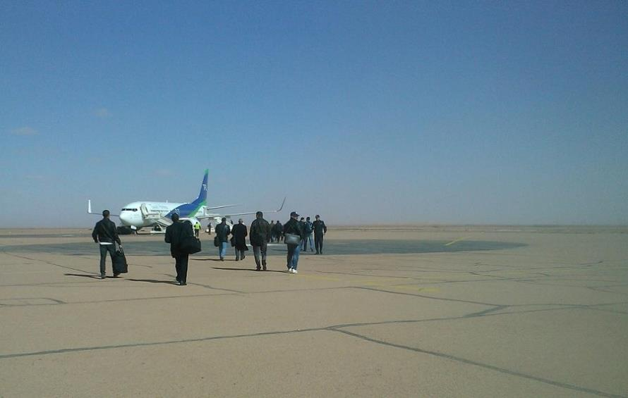 In Amenas (Algeria): The airport ..... coming back!
