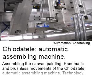 Chiodatele: Automatic assembling machine