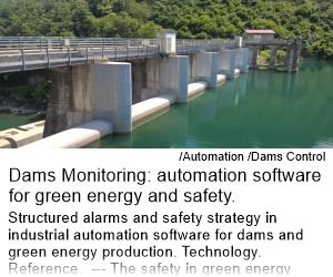 Dams Monitoring: automation software for green energy and safety