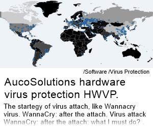 Hardware virus protection