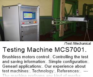 Testing Machine MCS7001